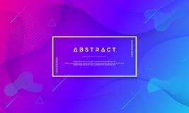 Голубая пурпурная абстрактная предпосылка соответствующая для сети, заголовка, знамени сети, приземляясь страницы, цифровой предп иллюстрация штока