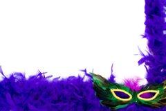 голубая рамка пера Стоковое Изображение RF