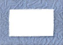 голубая рамка Стоковое Фото