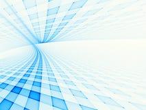 голубая решетка Стоковое Изображение
