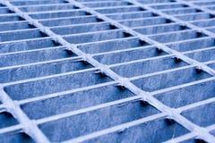 голубая решетка Стоковая Фотография RF