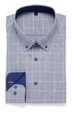 голубая рубашка стоковое фото