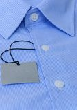 Голубая рубашка Стоковые Изображения