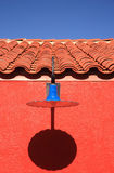 голубая светлая вертикаль Стоковые Фото