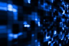 Голубая светлая предпосылка Стоковая Фотография