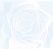 голубая светлая свирль Стоковое фото RF