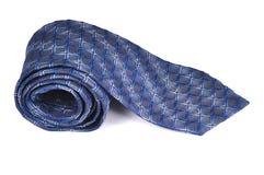 голубая связь прокладки шеи Стоковое Изображение