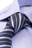 голубая связь рубашки Стоковое Фото