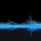 голубая сетка иллюстрация штока