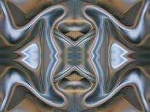 Голубая сияющая текстура поверхности ткани Стоковые Изображения RF