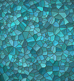 Голубая скачками картина мозаики Стоковые Фото