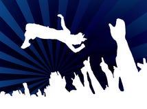 голубая скачка согласия бесплатная иллюстрация