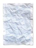 голубая сморщенная диаграмма Стоковое Изображение