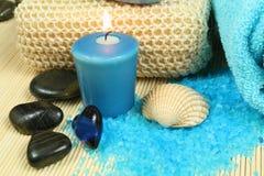 голубая спа Стоковые Изображения