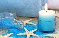 голубая спа Стоковая Фотография