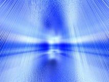 голубая спрятанная дверь Стоковое Изображение RF