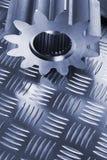 голубая сталь menagerie Стоковое Фото