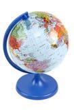 голубая стойка глобуса Стоковые Фотографии RF