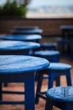 Голубая таблица Стоковая Фотография