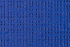 Голубая текстура винила Стоковые Фотографии RF