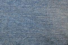 голубая текстура демикотона ткани Стоковые Изображения