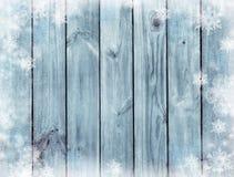 голубая текстура деревянная Загадочная ноча рождества Зима Темный b Стоковые Изображения RF
