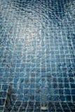 Голубая текстура плавательного бассеина Стоковые Изображения RF