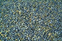 голубая текстура серого цвета гравия Стоковое Изображение RF