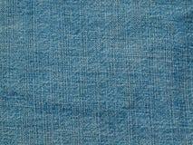 Голубая текстура ткани джинсовой ткани Стоковое фото RF