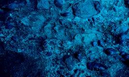 Голубая текстурированная предпосылка grunge текстурированная камнем стоковое фото