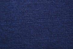 голубая темная джинсовая ткань Стоковые Фото