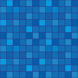 голубая темная плитка мозаики иллюстрация вектора
