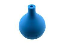 голубая темная резина enema стоковое изображение rf
