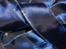 голубая темная тесемка Стоковое Изображение RF