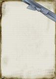 голубая тесемка пергамента бесплатная иллюстрация