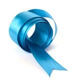 голубая тесемка Стоковые Изображения RF