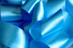 голубая тесемка Стоковая Фотография RF