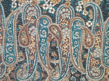 голубая ткань Стоковые Фото