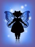 голубая фе бесплатная иллюстрация