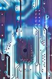 голубая цепь доски Стоковые Изображения RF