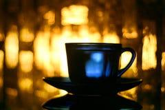 голубая чашка Стоковые Изображения