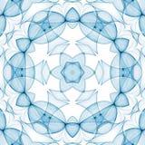 голубая чистая картина Стоковые Изображения