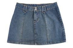 голубая юбка стоковые фото