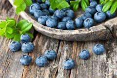 Голубика, противоокислительн органическое superfood стоковые изображения