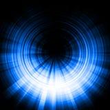 голубое влияние затмения Стоковая Фотография RF