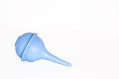 голубое всасывание шарика Стоковое Изображение