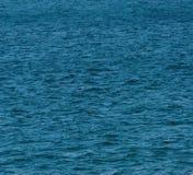 голубое глубокое море Стоковые Фотографии RF