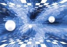 голубое глубокое Стоковое Изображение RF
