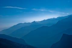 голубое глубокое стоковая фотография rf