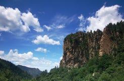 голубое грандиозное небо горы Стоковые Изображения RF